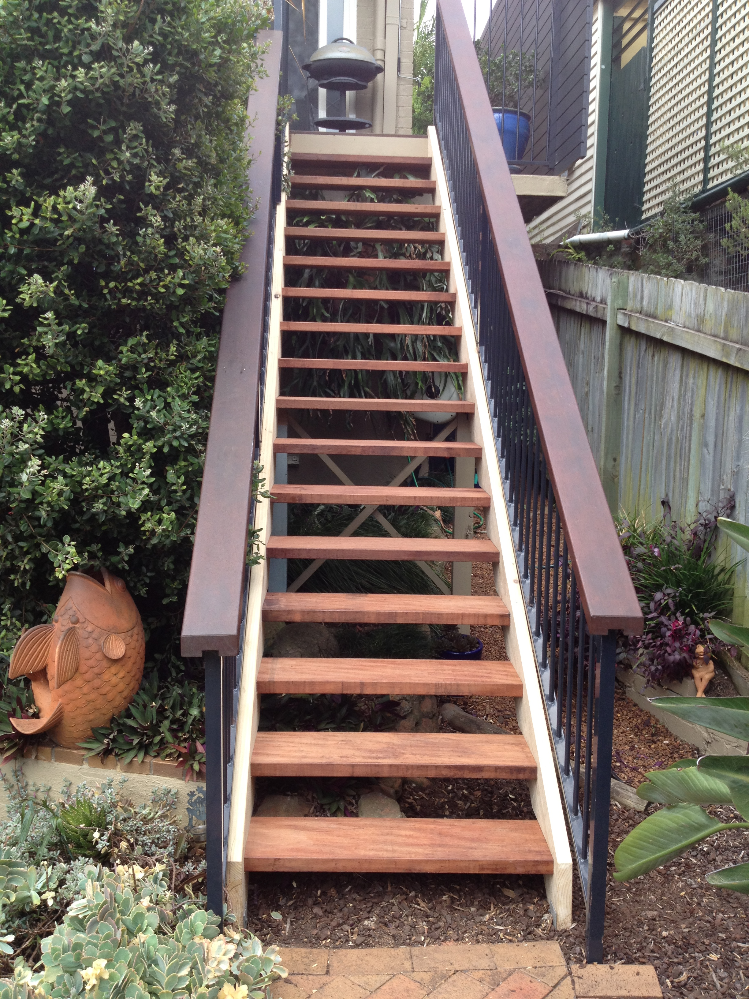 Outdoor stairs for Exterior stairs